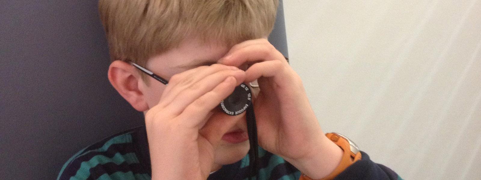 baja visión ir a clase
