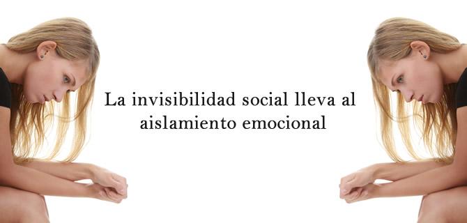 invisibilidad social